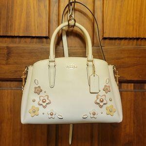 Coach Mini Sage Floral Carryall Shoulder Bag